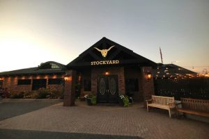 stockyard background